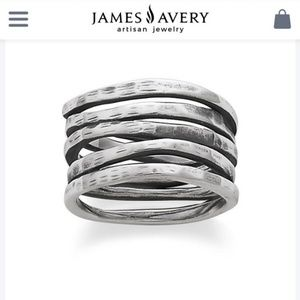 James Avery stack ring